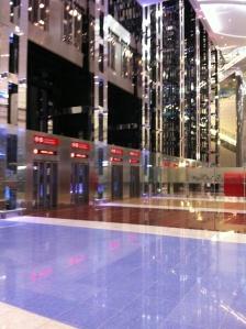 Glittering Dubai Airport
