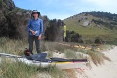 A day for bushwalking, not kayaking