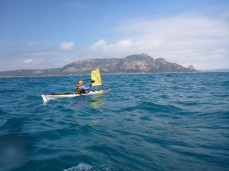 Approaching Flinders Island