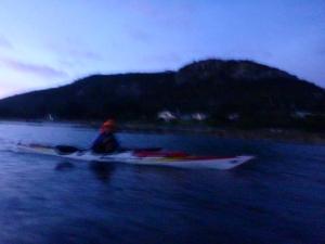 Stealing away from Killiecrankie Bay