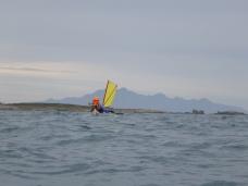Paddling south along Flinders Island west coast