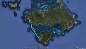Cape Barren Island to Clarke Island