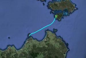 Onwards from Clarke Island