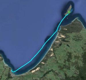Waterhouse Island to Bridport