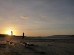 Sunset on theisland