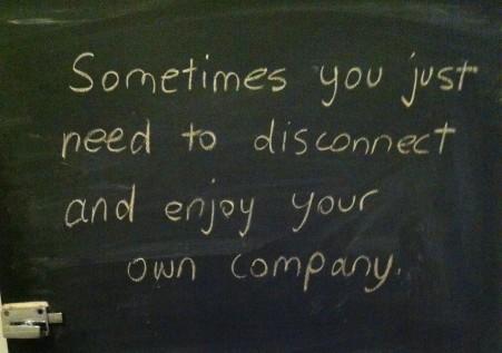 Quote from my yoga studio - Yogo To Go, Petersham, NSW